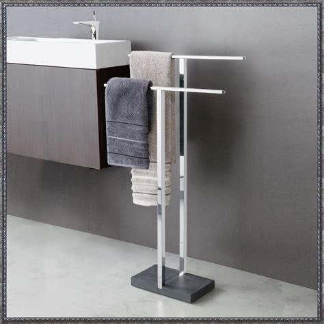 badezimmer handtuchhaken handtuchhalter bad stehend zuhause dekoration ideen