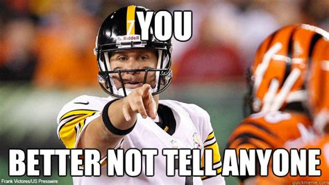 Roethlisberger Memes - steelers memes best pittsburgh steelers ever made
