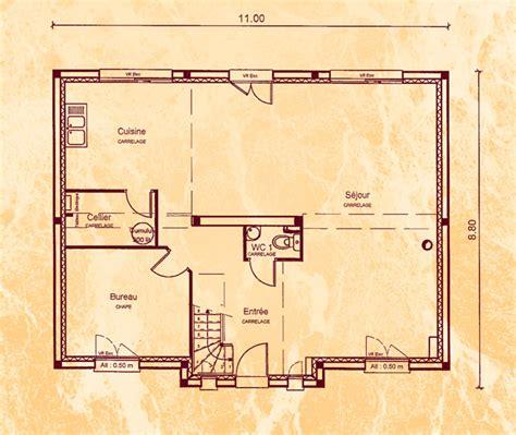 Cuisine Maison De Cagne 1307 by Mod 232 Le Et Plans Bd Gondole Du Constructeur Belles Demeures