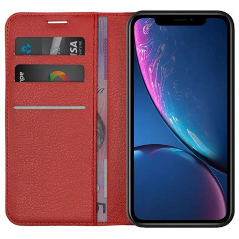 leather wallet card holder apple iphone xr