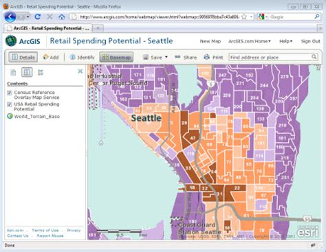 arcgis layout view a3 sharing your map in a web application documentation 10 3