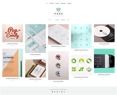 wordpress layout vorlagen gro 223 z 252 gig wordpress portfolio vorlagen kostenlos galerie