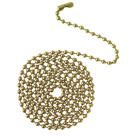 beaded chain connector westinghouse 12 ft solid brass beaded chain with