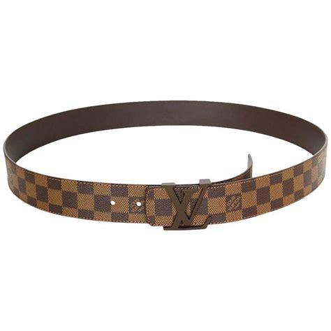 Jual Belt Lv Louis Vuitton Taiga Black Buckle Black Pin Bb 525d2a10 1 louis vuitton initiales damier belt with lv buckle sz 110 for sale at 1stdibs