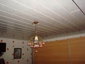 avis sur ossature pour lambris pvc au plafond