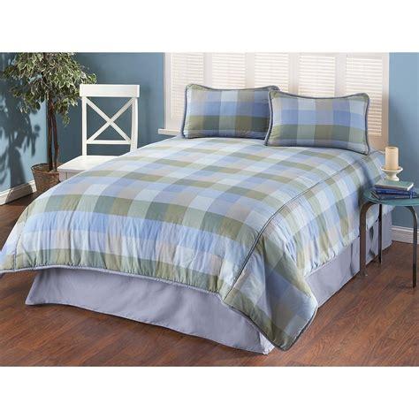 Plaid Comforter Sets by Alex Plaid Comforter Set 148671 Comforters At Sportsman