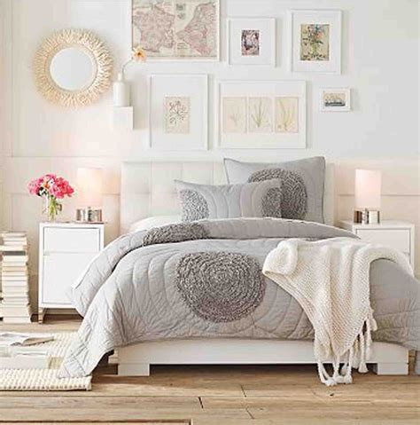 bright home decor light and bright bedroom ideas grey nutral white