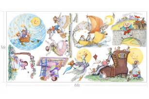 nursery rhymes custom wall decals for kids muralistick com