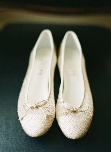 gold flat wedding shoes gold flat bridal shoes elizabeth designs the