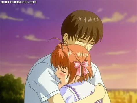 imagenes anime abrazos abrazos anime
