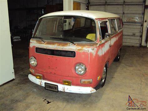 volkswagen microbus 1970 1970 volkswagen bus uk historic tax class microbus 9