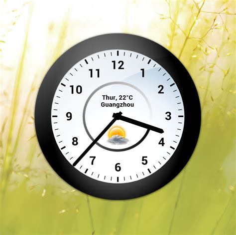 analog clock a 1 by adni18 on deviantart analog weather clock for xwidget by jimking on deviantart