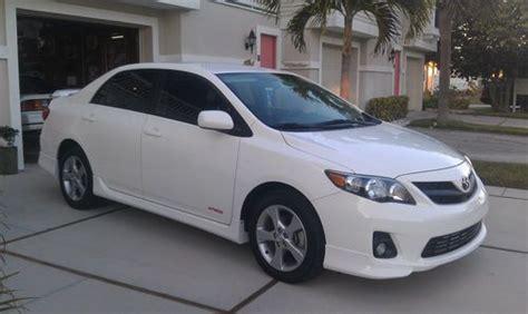2012 Toyota Corolla S White Sell Used White 2012 Toyota Corolla S 8 000