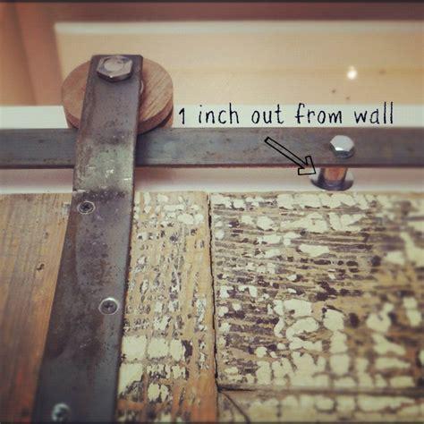 Do It Yourself Barn Door Hardware Flat Bar Diy Door Track Design The You Want To Live