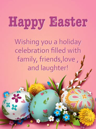 Wishing You A Happy Easter by Enjoy Your Happy Easter Card Birthday