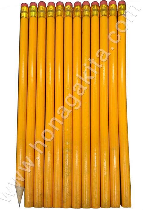 Pensil Hb pensil hb kuning dengan stip