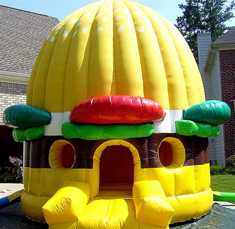 inflatable house inflatable hamburger bounce house