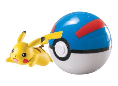 Clearance Sale Pokeball Poke Go T1310 4 pikachu great clip n carry poke tomy t18869 official