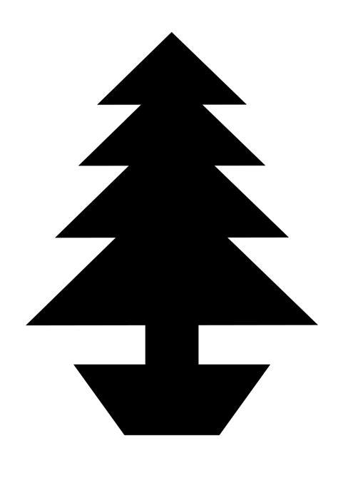 christmas tree stencil
