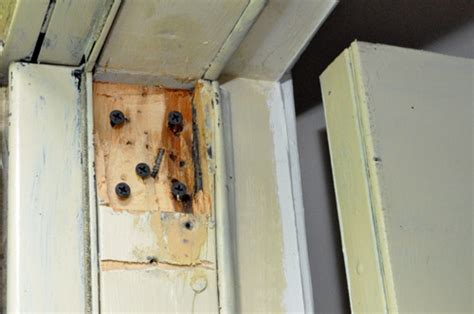 Repair Door Frame Wood Filler by How To Use Plastic Wood To Repair A Rotted Wood Door Frame