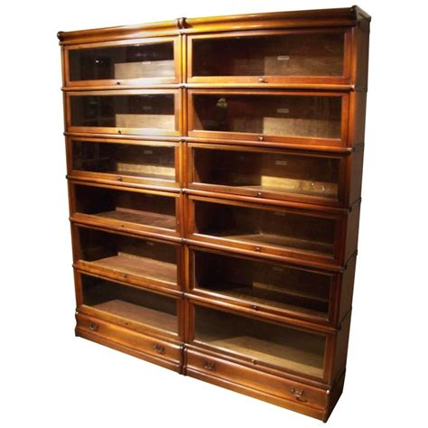 mahogany bookshelves for sale original mahogany globe wernicke bookcase in condition for sale at 1stdibs