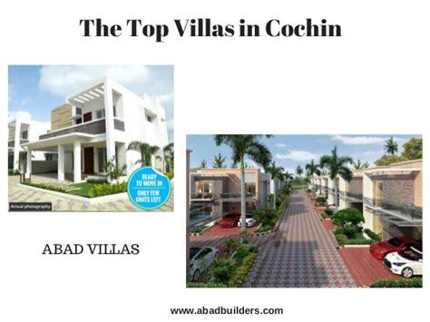 Distance Mba In Cochin by Villas For Sale In Kochi Cochin Villas Abad Builders