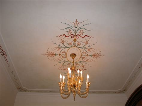decorazione soffitti decorazioni soffitto a grottesche