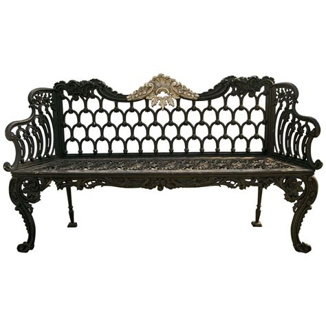 cast iron bench scottish cast iron bench by carron at 1stdibs