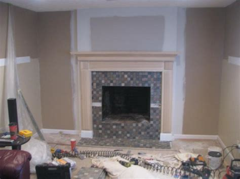 Removing Tile From Fireplace Surround by Before And After Fireplace Photos Add Space And Value To