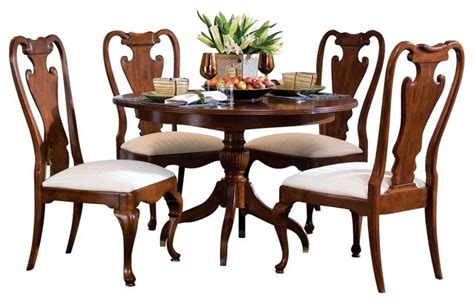 american drew cherry dining room set american drew cherry grove 5 piece dining room set in