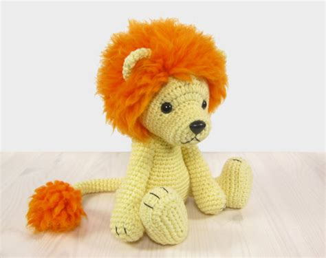 amigurumi pattern lion pattern lion amigurumi lion pattern crochet tutorial with
