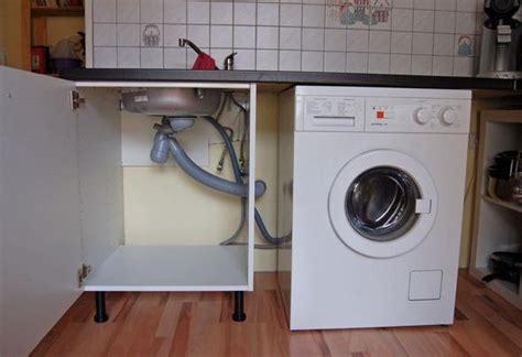 Waschmaschine Unter Arbeitsplatte by Wo Wie Sp 252 Lmaschine In K 252 Chenzeile Unterbringen K 252 Che