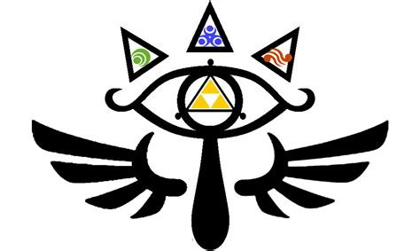 sheikah eye of truth tattoo design by souffle etc on