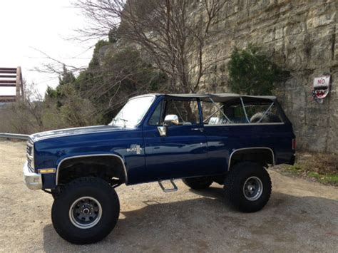 1974 k5 blazer 4x4 383 stroker lifted convertible