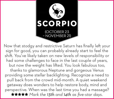 get your october 2015 horoscope chatelaine