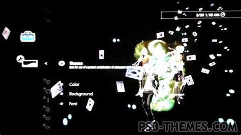 theme psp persona 3 ps3 themes 187 persona 3 dynamic theme