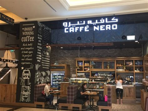 caffe nero design what s inside the new mall on the palm golden mile galleria