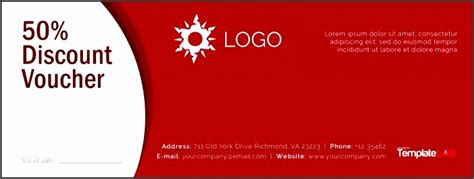 6 Free Coupon Template Sletemplatess Sletemplatess Coupon Template Powerpoint
