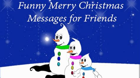 funny merry christmas text messages wishes  friends