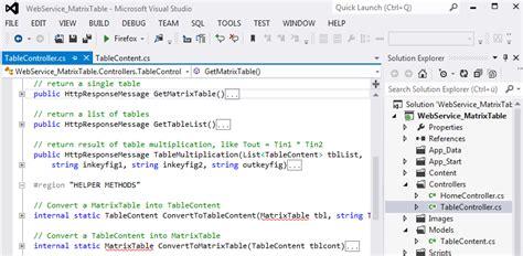 web api tutorial visual studio 2012 building a web service that receives and returns data