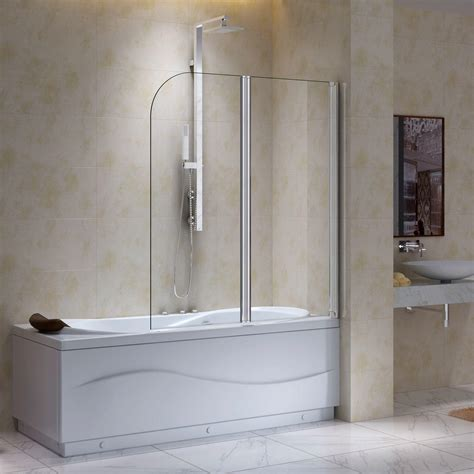 bathtub screens european bathtub screen with square edge shower bathroom