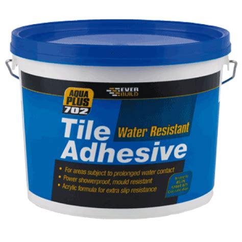 Waterproof Tile Adhesive 2.5ltr (3.75kg)Ref RES02