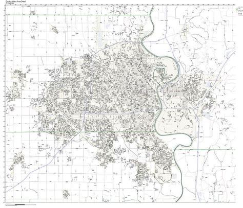 omaha zip code map omaha nebraska zip code