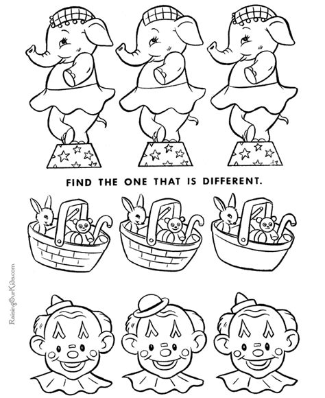 printable puzzles for toddlers printable hidden pictures 012