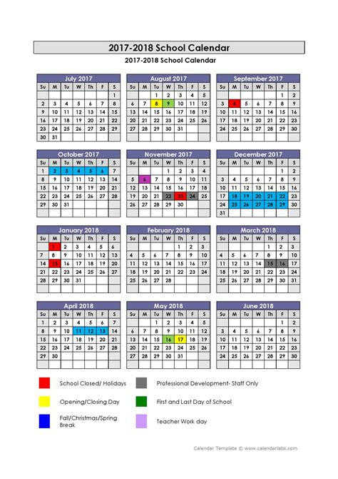 Home Www Lewis K12 Ky Us 2017 2018 School Year Calendar Template