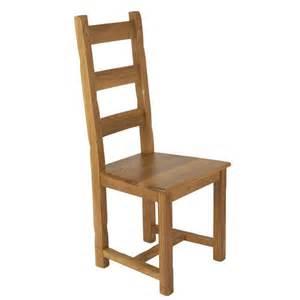 chaise rustique assise bois droits