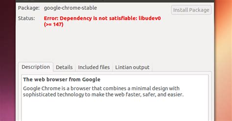 chrome themes won t install fix google chrome can t be installed in ubuntu 13 04