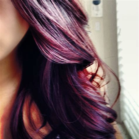 burgundy hair on a dsk steph diy hair color burgundy plum
