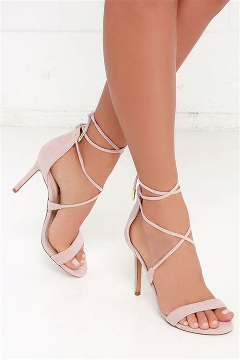 romy dusty lace up heels my style