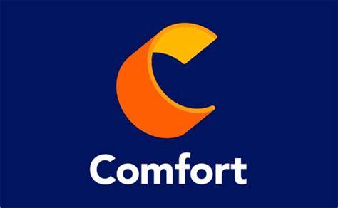 comfort hotel brand reveals  logo design logo designer